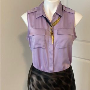 Banana Republic Lavender blouse sleeveless
